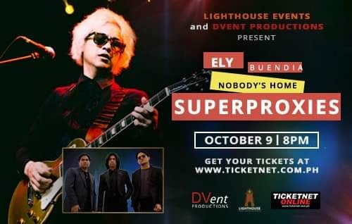 ELY BUENDIA NOBODY'S HOME SUPERPROXIES - PROXY ACCESS