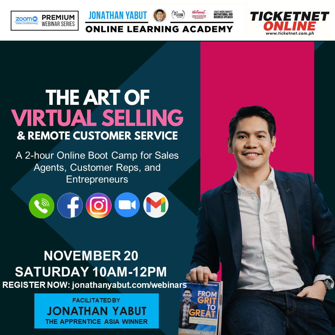 NOV 20 The Art of Virtual Selling and Remote Customer Service